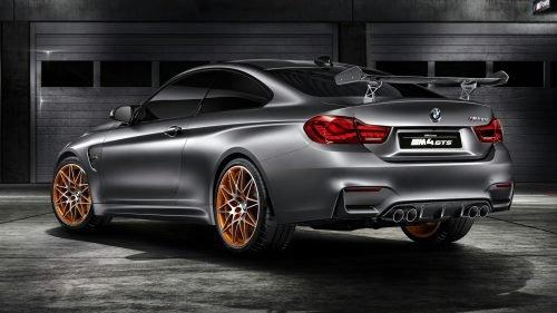 BMW M4 GTS Concept atras