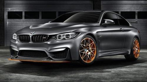 BMW M4 GTS Concept frente