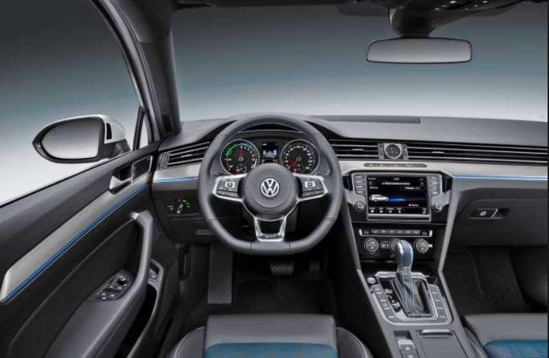 volkswagen passat 2016 interior