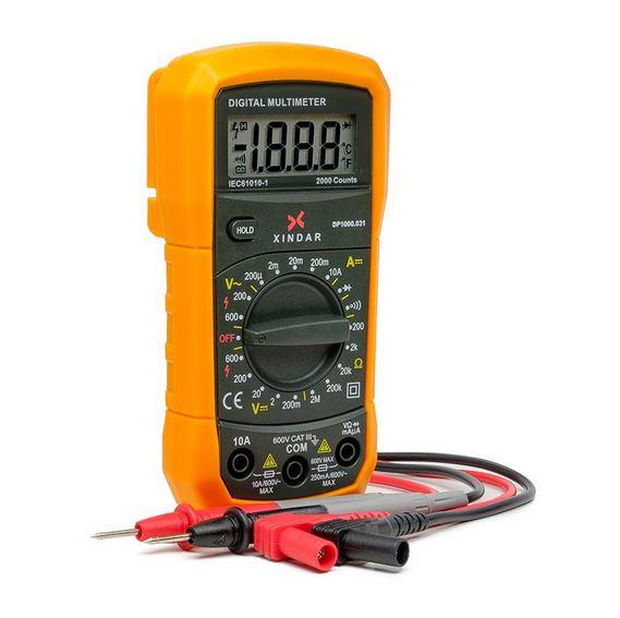 herramientas imprescindibles para el taller mecanico -multimetro