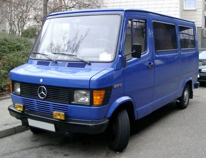 furgoneta mercedes benz